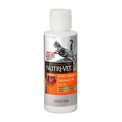 Nutri-Vet Wild Alaska Salmon Oil For Cats 4 ounce
