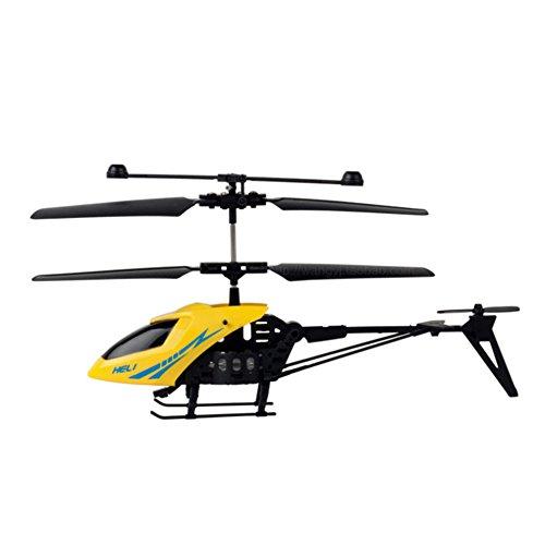 ACHICOO Helicóptero teledirigido de 2 Canales, Resistente al Rash, con luz LED para Interior, Juguete para niños, Regalo para niños