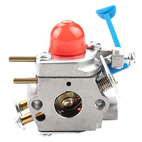 QAIK Kit de melodía de carburador Se adapta a Husqvarna 125L 125LDX 128LD FITS for Poulan 28cc WeeDeater 545081850 545006060 FITS for ZAMA C1Q W38
