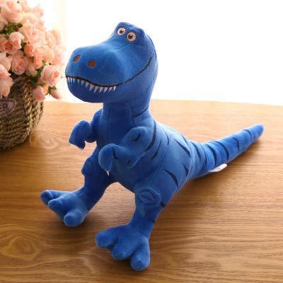 LYXBWT Muñeco de Dinosaurio Tyrannosaurus Juguete de Felpa muñeca de Juguete para niños muñeca 40 cm * 60 cm Azul