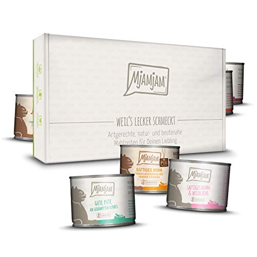 MjAMjAM lecker Box 12 x 200g, 1er Pack (1 x 2400 g)