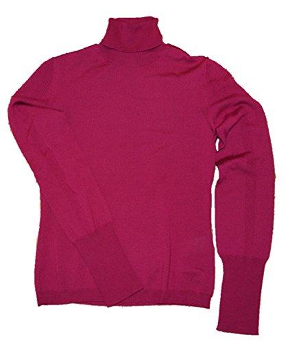HUGO Slim-Fit Rollkragen Pullover SORELLAVA aus Schurwoll Farbe rot 657 (XS)
