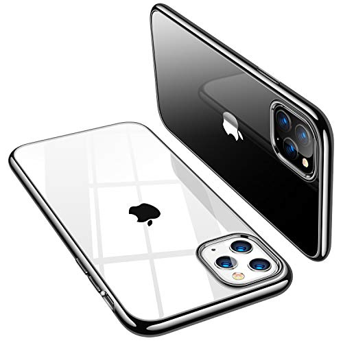 TORRAS Crystal Clear iPhone 11 Pro Hülle, Transparent [Anti-Gelb] Dünn iPhone...
