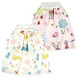 Jupe à Couches bébé, Culotte d'apprentissage Lavable, Jupe d'entraînement bébé garçon, Couches lavables réutilisables pour Un Bon Sommeil