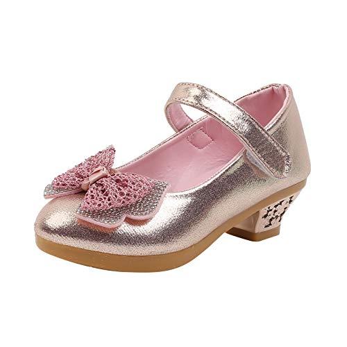 SO-buts Mary Jane Lindo Brillo Rosa Lentejuelas Fiesta Boda Zapatos De Princesa...