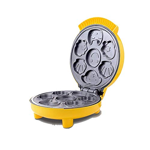 LIUCHANG Máquina de Fabricante de gofres de Forma de Animal con Control de Brown para no Palo y Ajustable para el Desayuno, el Almuerzo o los bocadillos liuchang20