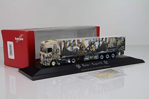 Herpa 122023 Scania CS20 HD Refrigerated Box Trailer Heide Log./Thor