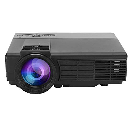 125 Mini Full HD Projector, Q5 Mini Projector HD Portable LED Projector Home Cinema Theater Media PlayerSuitable for Home and Office(US)