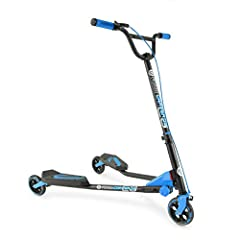 ✌ THE ORIGINAL FLIKER - Yvolution is the Original Flicker Company that has become the standard by which all self-propelled scooters are measured. The Y Fliker C3 features special FLEX technology designed for drifting and carving to pull of crazy move...