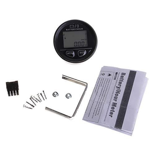 Find Bargain TT-OUTDO- 12V/24V/36V/48V/72V Car Digital Led Electric Battery Status Indicator Voltmet...
