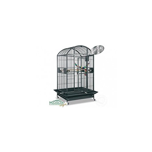 Montana Cages ® | Papageienkäfig Castell Dome - Antik Voliere, Käfig