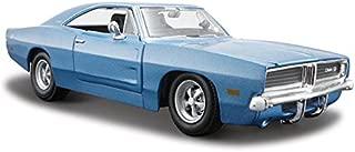 1969 Dodge Charger R/T Blue 1:25 Diecast Model Car