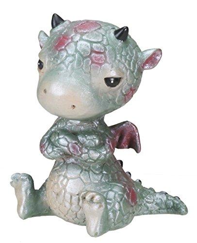 Sulky Baby Dragon Figurine Display