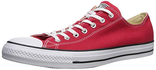 CONVERSE Chuck Taylor All Star Seasonal Ox, Unisex-Erwachsene Sneakers, Rot, 45 EU