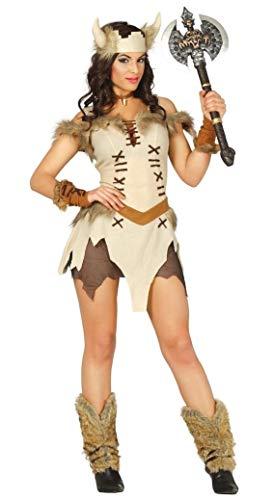 FIESTAS GUIRCA Disfraz de guerrera vikinga Sexy