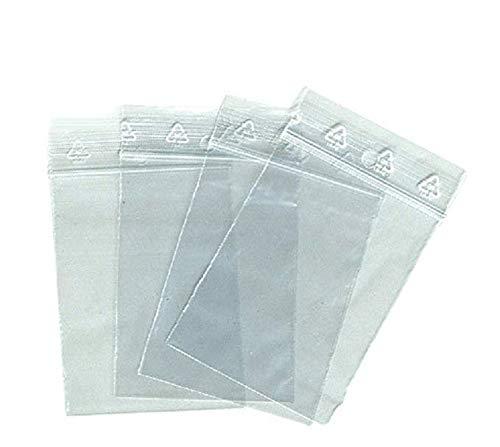 500 zip Beutel 80 x 120 mm Taschen Schließ zip 8 x 12 cm Schnappverschluss Einfrierens ECE-Norm konform alimentairet