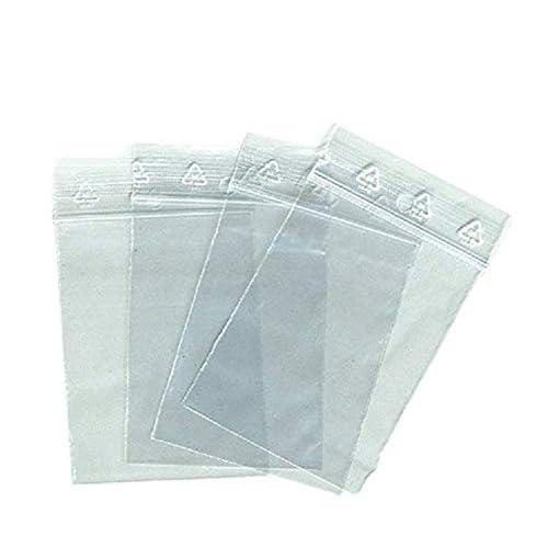 100 borsa con cerniera 50 x 70 mm 50 zip borse di blocco X 70 cm chiusura a scatto ECE alimentairet conforme congelamento