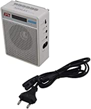 Selling Uniqness Portable FM Radio with LED Display and USB Pen Drive/SD Player Compatibility with Cell Phone, MP3, iPod and iPhone (White)