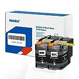 PERSEUS LC229XLBK Reemplazo para Brother LC229XL LC229BK álta Capacidad XL Cartuchos de Tinta Negro(Paquete de 2)