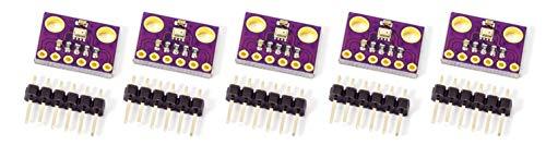 MissBirdler 5 stück Luftdruck Sensor Altimeter Temperatursensor I2C BMP280 BMP 280 Breaktout Board Modul für Arduino Rasperry Pi