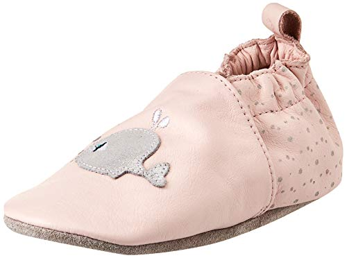 Robeez Unisex Baby PINK Whale Hausschuh, Hellrosa, 22 EU