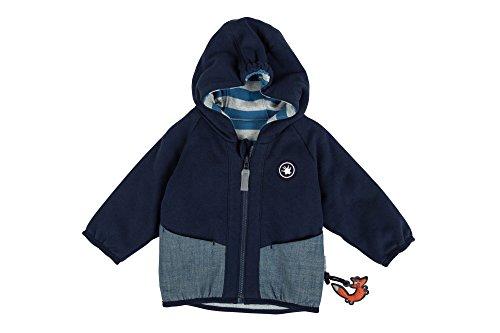 Sigikid Baby-Jungen Wendejacke, Jacke, Blau (Navy Blazer 294), 80