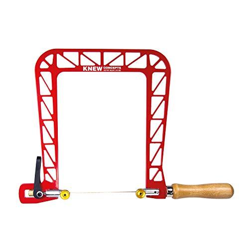 Arco para sierra de marquetería Heavy Duty con tensión de hoja (200 mm, arco...