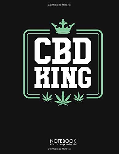 CBD King Journal Notebook: Funny CBD Oil...
