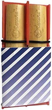 Red Clarinet Slanted Stripes Rockin' Special Campaign Holder Lescana by Reed 1 year warranty