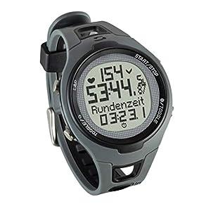 Sigma Sport Pulsuhr PC 15.11, Herzfrequenz mit Brustgurt, EKG genau, wasserdicht, Black