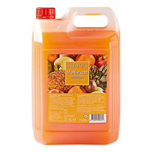 Prominent Zitronenlimonade Sirup Multifrucht Flasche 5 Liter