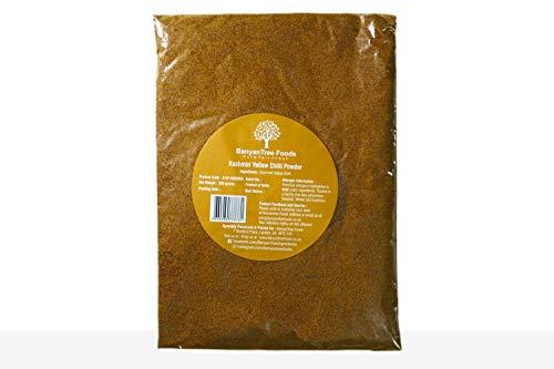 Polvo de chiles amarillos edición especial (Tierra de pimentón indio amarillo caliente) Pack Resellable Grande 200g