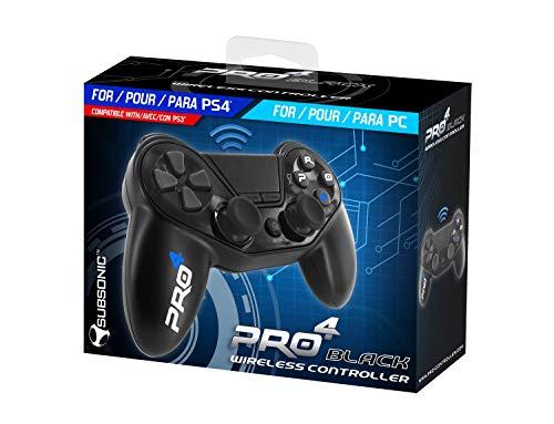 Mando inalámbrico Pro4 black wireless controller - Accessorio para consola PS4 /...