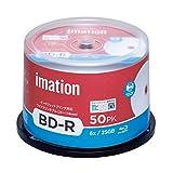 imation イメーション 1回録画用 ブルーレイディスク BD-R 25GB IM081 (片面1層/1-6倍速/50枚)