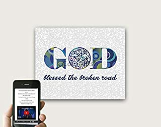god bless the broken road lyrics poster