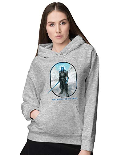 BLAK TEE Femme Watch Out for The Dead Sweat a Capuche S