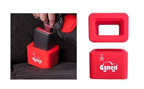 Storchenbeck 2er-Pack Schnallenhalter kompatibel mit Babyschalen - Halten Sie den Gurthalter in aufrechter Position, um das knicken zu erleichtern