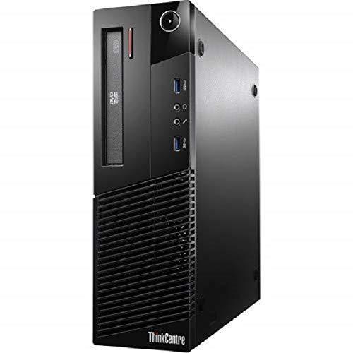 (Renewed) Lenovo ThinkCentre M93P Desktop ( Core i5-4210M 8 GB 1 TB HDD Windows 10 Pro MS Office 2019 Intel HD Graphics 5000), Black