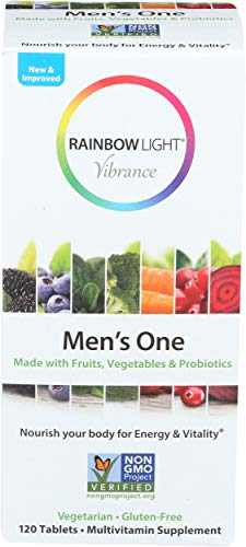 RAINBOW LIGHT VIBRANCE MULTIVITAMIN MENS ONE, 120 Ounce