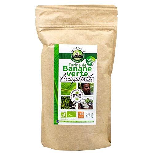 Farina di banana verde biologica equa
