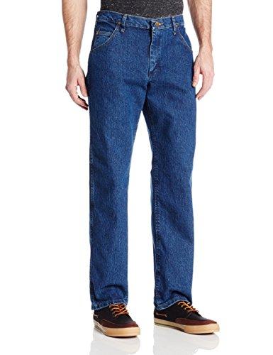 Wrangler Men's Premium Performance Advanced Comfort Cowboy Cut Reg Jean, Mid Stone, 36W x 34L