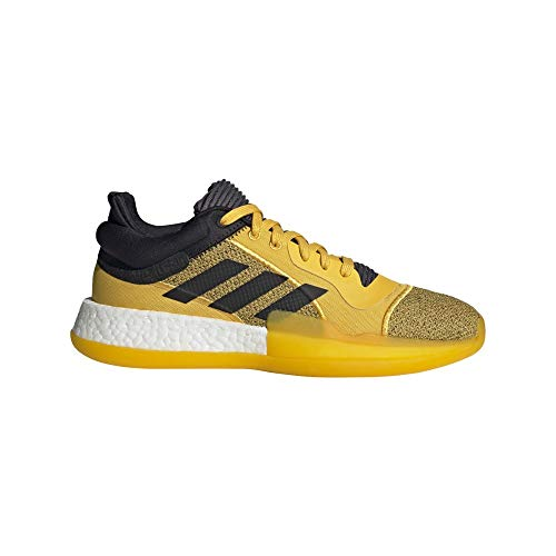 adidas Herren Marquee Boost Low Basketballschuhe, Mehrfarbig (Dorfue/Negbás/Veruni 000), 48 EU