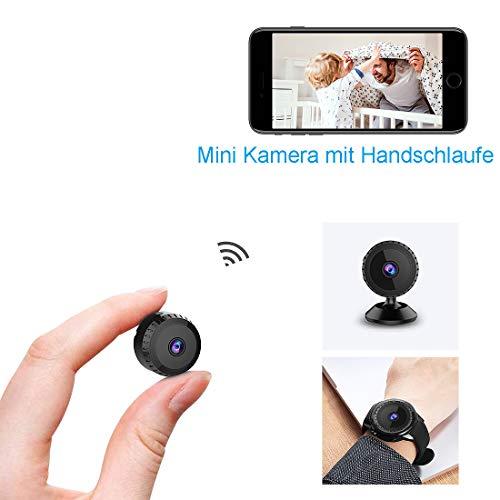 Mini Kamera,TODAYI Klein Akku Üb...