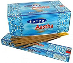 Satya Aastha Incense Sticks - 180 Grams - Premium Indian Incense