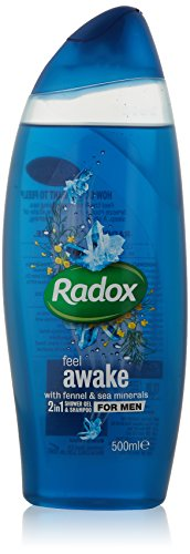 Radox Feel Awake for Men Gel douche 2 en 1 250 ml