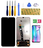 lwmtt display compatibile per huawei p smart 2019 nero,display lcd e touch screen digitizer assembly per huawei p smart 2019 nero + strumenti completo