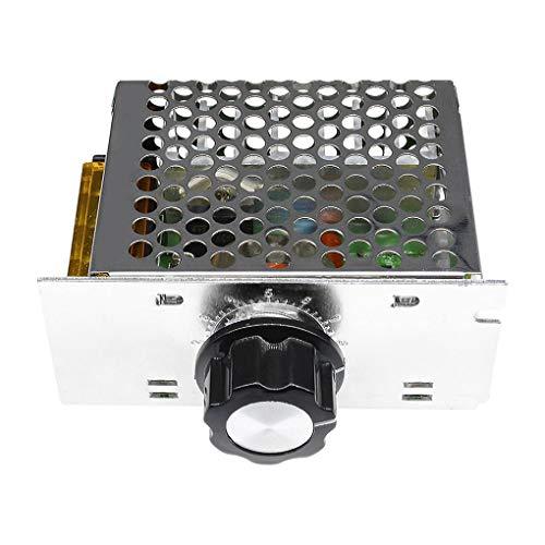 Beaums 4000W 220V AC SCR-Motordrehzahlregler-Modul für elektronische Spannungsregler Dimmer Drehzahlregelung Steuerung