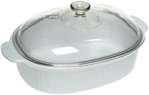 new arrival CorningWare online French White lowest 4-Quart Covered Casserole outlet online sale