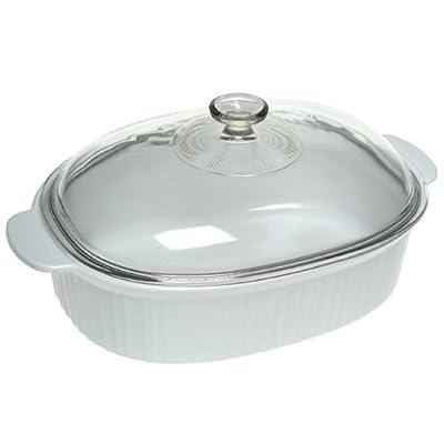 3 quart casserole with glass lid