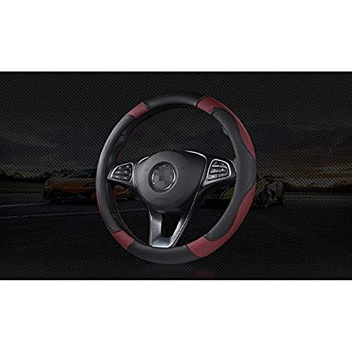 BHYUDYT Cubierta del Volante, para Todos los Modelos Chrysler 300c 300 Grand...